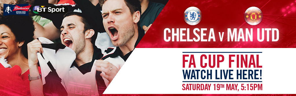 FA Cup Final Live at The Green Man